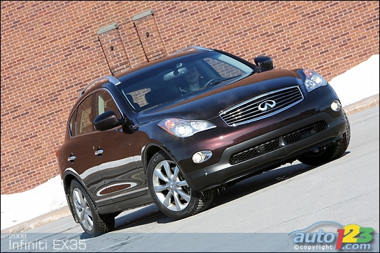 infiniti ex35 aerodynamic kit