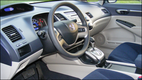 Nice Looking Interior! Http://www.auto123.com/ArtImages/97286/2008 Honda  Civic Hydrid I03