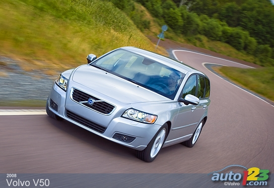 2008 Volvo V50 wallpaper