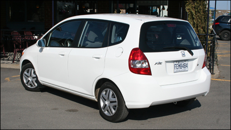 2008 Honda Fit. 2008 Honda Fit LX Review