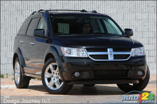 2009 Dodge Journey R/T AWD Review: Photo Gallery | Auto123.com