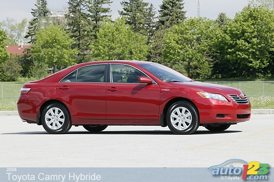 2008 toyota camry hybrid review laking toyota. Black Bedroom Furniture Sets. Home Design Ideas
