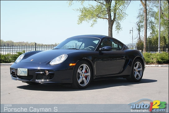 2008 Porsche Cayman Related Infomation Specifications