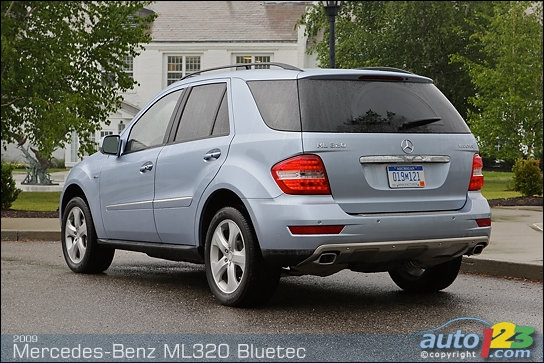 Review 2009 Mercedes Ml320 Bluetec Diesel Clublexus Lexus Forum Discussion