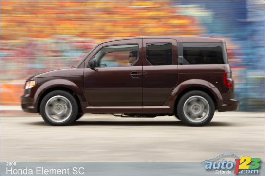 2008 Honda Element SC Review