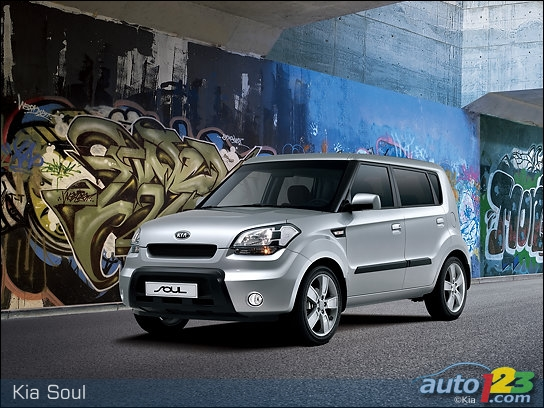 Kia Soul: new photos and engine specs