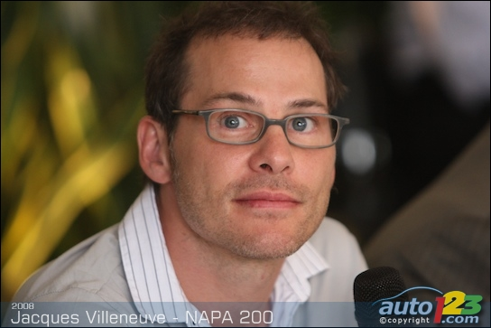 NASCAR: Jacques Villeneuve will contest the NAPA Auto Parts 200 (photos)