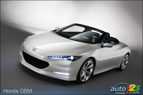 Honda introduces a super low emission roadster