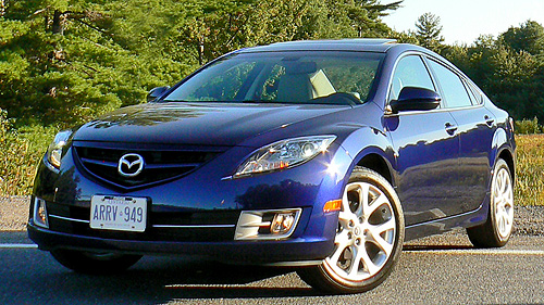 2009 Mazda6 GT-I4 Video Review