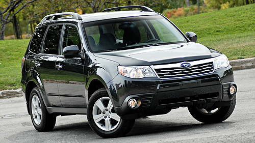 2009 Subaru Forester 2.5X Touring Video Review
