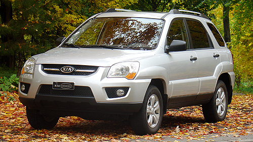 2009 Kia Sportage LX V6: Road Test Video