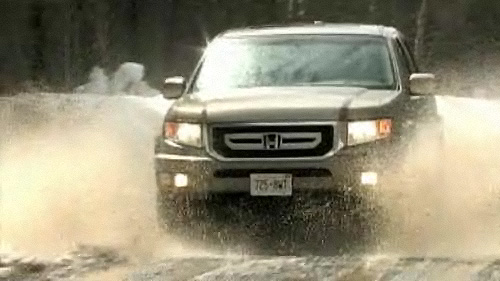 2009 Honda Ridgeline EX-L Navi Video Review
