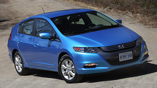 2010 Honda Insight EX Video Review