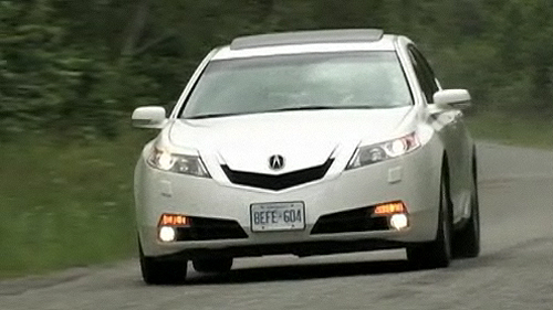 2009 Acura TL SH-AWD Tech Video Review