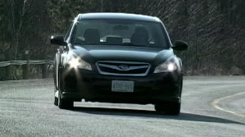 2010 Subaru Legacy PZEV Video Review