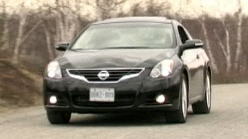 2010 Nissan Altima 3.5 SR Coupe Video