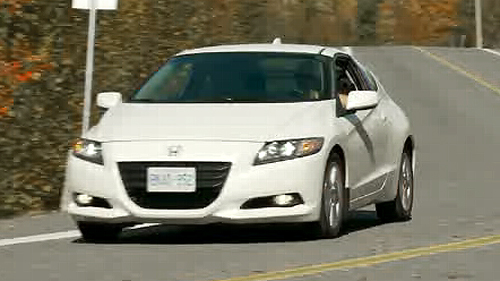 2011 Honda CR-Z EX Video Review