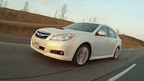 2011 Subaru Legacy 2.5GT Video Review