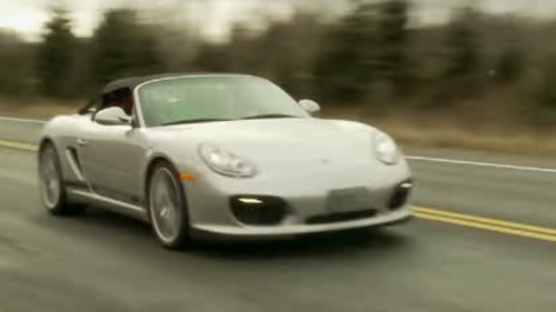2011 Porsche Boxster Spyder Video Review