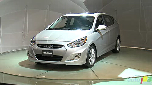2011 Montreal Auto Show: North American premiere of the 2012 Hyundai Accent Video