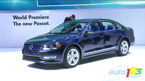 2012 Volkswagen Passat: New Mid-size Sedan, same name Video