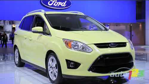 Detroit 2011: Ford unveils two hybrid variants of the C-MAX Video