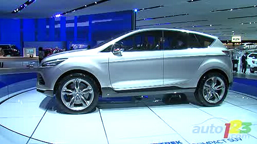 Detroit 2011: Ford unveils the Vertrek Concept, should replace Escape Video