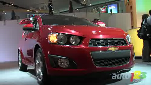 Detroit 2011: Chevrolet Creates Waves With The All-New 2012 Sonic Video