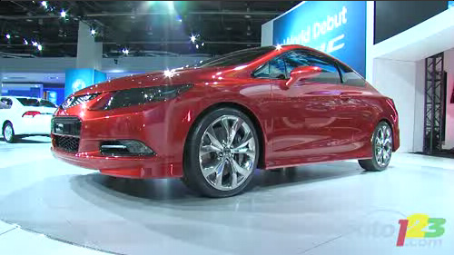 Detroit 2011: World premiere of the 2012 Honda Civic Concept Video