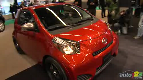 Montreal 2011: Scion iQ makes its first steps in Canada Video