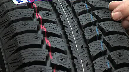 What makes a winter tire effective in winter? Video