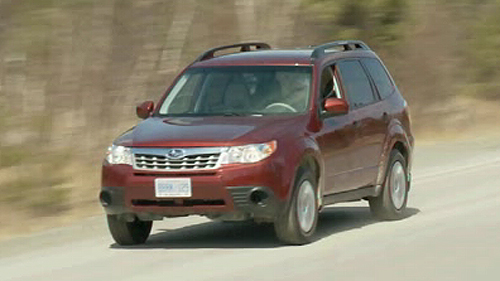 2011 Subaru Forester 2.5X Video Review