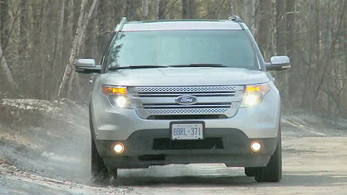 2011 Ford Explorer Limited V6 4WD Video Review