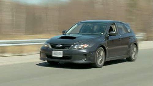 2011 Subaru Impreza WRX 5-door Video Review