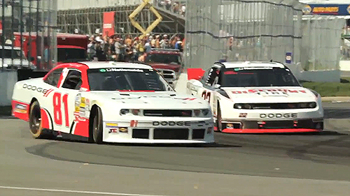 NASCAR Montreal: Video of Maryeve Dufault's first Nationwide race Video