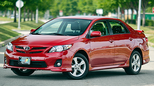 2011 Toyota Corolla S Video Review