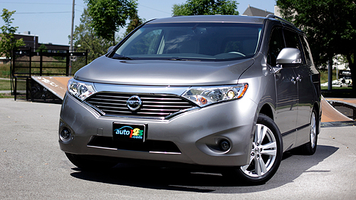 2011 Nissan Quest 3.5 LE Video Review