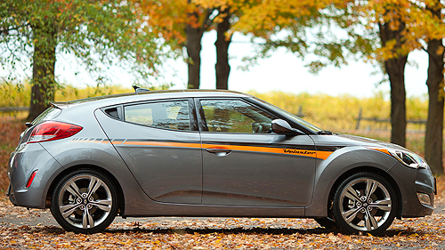 2012 Hyundai Veloster EcoShift DCT Tech Package Video Review