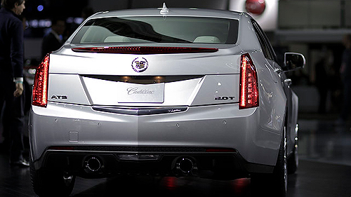 2013 Cadillac ATS at Detroit Auto Show Video
