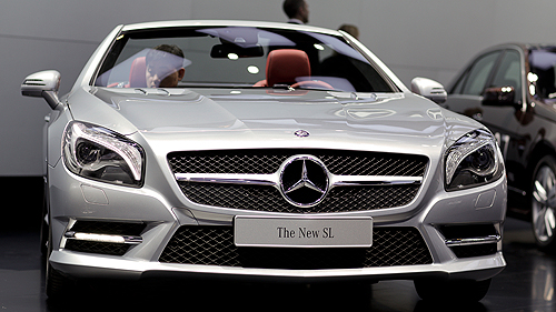 2013 Mercedes-Benz SL-Class in Detroit Video