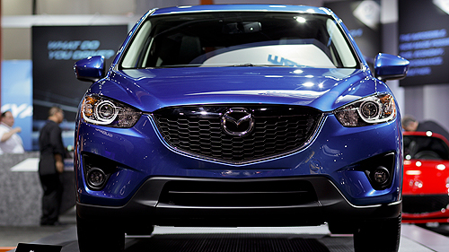 2013 Mazda CX-5 in Detroit Video