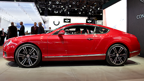 2012 Bentley Continental GT V8 at Detroit Auto Show Video