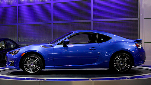 2013 Subaru BRZ at the Montreal Auto Show Video