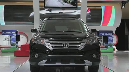 2012 Honda CR-V (with Jerry Chenkin) at the Montreal Auto Show Video