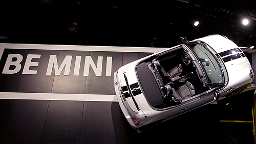 2012 MINI John Cooper Works Roadster at Detroit Auto Show Video