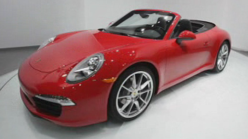 2012 Porsche 911 Cabriolet at the Detroit Auto Show Video