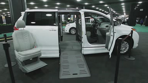 Transportation solutions for the disabled at the Detroit Auto Show Video