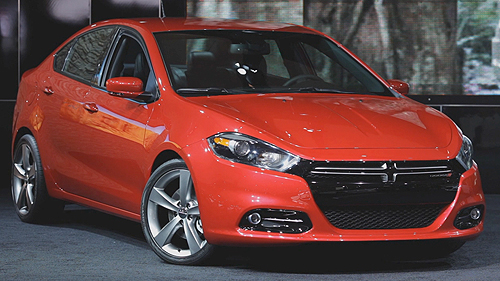 2013 Dodge Dart at the Toronto Auto Show Video