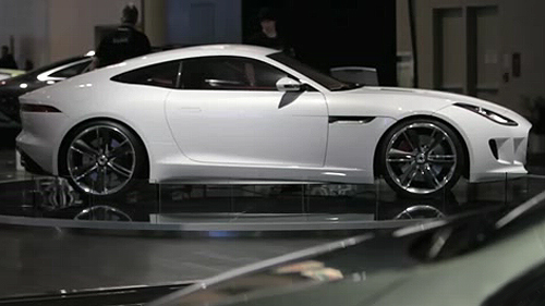 Jaguar C-X16 Concept and Ian Callum in Toronto Video