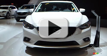2014 Mazda6 zoom-zooms into Canada Video